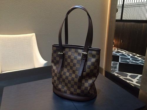 ルイヴィトン Louis Vuitton マレ ダミエエベヌ N42240 買取 銀座