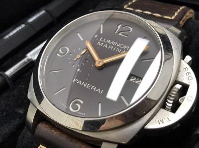 PANERAI パネライ ルミノール1950 3デイズ PAM00351 チタン 革ベルト 腕時計 高価買取 七条店
