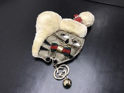 GUCCI グッチ ガットリ クリスマス限定 キーホルダー 美品 高価買取 七条店 西院