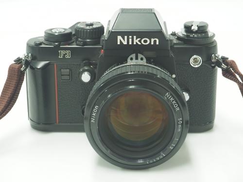 Nikon ニコン F3 50mm 1.2 フィルムカメラ 中古 買取 京都 四条