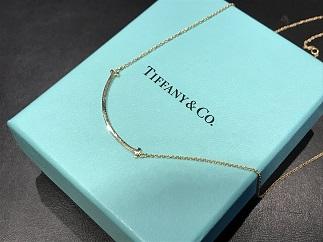 Tiffany & Co. ティファニー Tスマイル ネックレス 750YG ブランドジュエリー買取 福岡 天神 博多 赤坂 質屋