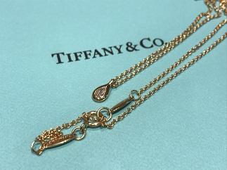 Tiffany & Co ティファニー バイザヤード ペアシェイプ 750 ブランドジュエリー買取 質屋 福岡 天神 博多 赤坂 薬院
