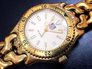 TAG HEUER タグホイヤー セルシリーズ ゴールド 時計買取 福岡 天神 博多