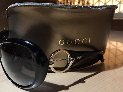 Gucci(グッチ)サングラスブラック 美品 高価 買取 宅配 マルカ