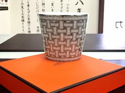 エルメス(HERMES)マグカップ ブランド食器 高価買取 マルカ