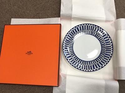 エルメス(HERMES) ブルーダイユールプレート 食器 エルメス買取 京都 四条 大宮 西院