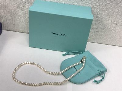 ティファニー(Tiffany&Co.) パールネックレス Ag925 ティファニー買取 四条 大宮 西院