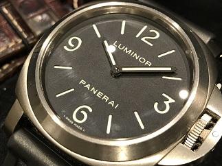 OFFICINE PANERAI オフィチーネ パネライ ルミノールベース PAM00176 チタン 時計買取