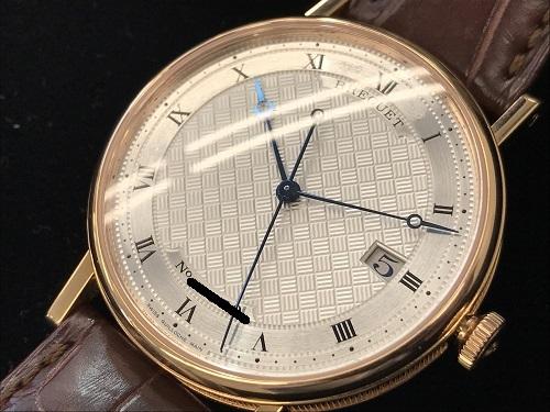 ブレゲ ブレゲクラシック 5177 PG×レザー 男性時計