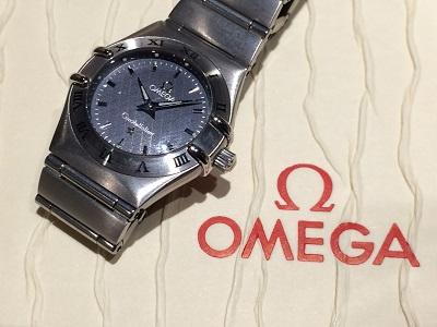 オメガ(OMEGA)ミニコンステレーション Ref.1262.40 電池切れ 箱保証書有