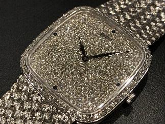 Piaget ピアジェ トラディション ダイヤモンド 9775 手巻き 時計買取 保証なし