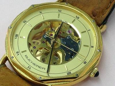 BUCHERER ブッフェラー買取 メンズウォッチ 手巻き 時計買取MARUKA