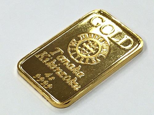 地金 インゴット 純金 K24 4g 田中貴金属
