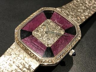 Piaget ピアジェ メンズウォッチ 手巻き 750WG ダイヤモンド 時計 買取