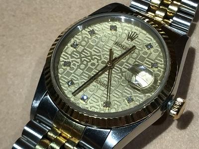 ロレックス(ROLEX) デイトジャスト 16233G コンピューター文字盤 ホリコン 腕時計 買取 京都 四条 烏丸 河原町