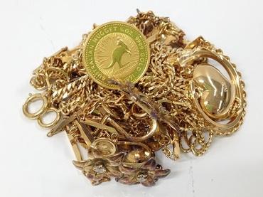 貴金属高価買取 K18等金製品多数お持ち込み 不要品処分 銀座店