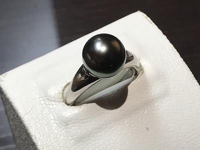 パール(PEARL)真珠 指輪 プラチナ リング 京都 四条 烏丸 河原町 買取