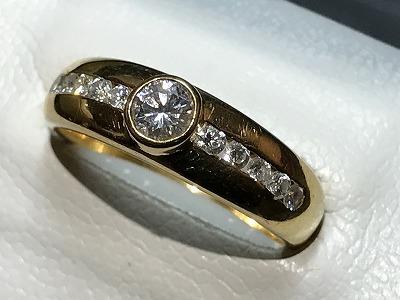 ダイヤモンド(DIAMOND) リング K18 指輪 ジュエリー 買取 京都 四条 烏丸 河原町