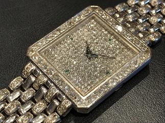 Piaget ピアジェ メンズウォッチ 手巻き ダイヤモンド ゴールド 時計買取
