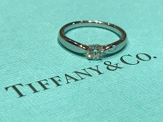 Tiffany & Co ティファニー ハーモニー ダイヤモンドリング Pt950 ブランドジュエリー買取