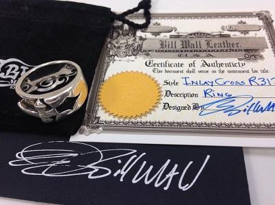 ビルウォールレザー(BILL WALL LEATHER) BWL インライドクロスリング R312 ビルウォール買取
