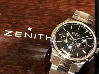 ZENITH ゼニス キャプテン クロノグラフ エルプリメロ 03.2110 SS 時計買取 福岡天神