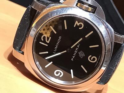 パネライ(PANERAI) ルミノールベース ロゴ SS ラバー 腕時計 京都 烏丸 四条店