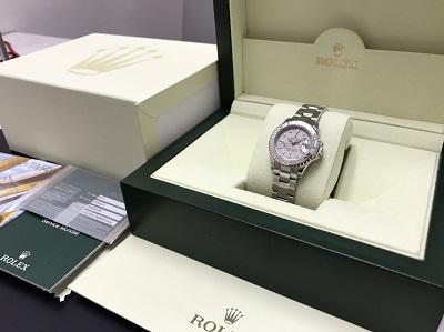 ROLEX ロレックス ヨットマスター Ref.169622 ロレジウム 腕時計 高価買取 四条店