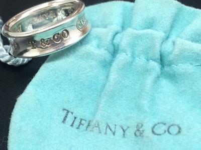 ティファニー(Tiffany&Co.) ナローリング SV925 ブランドジュエリー