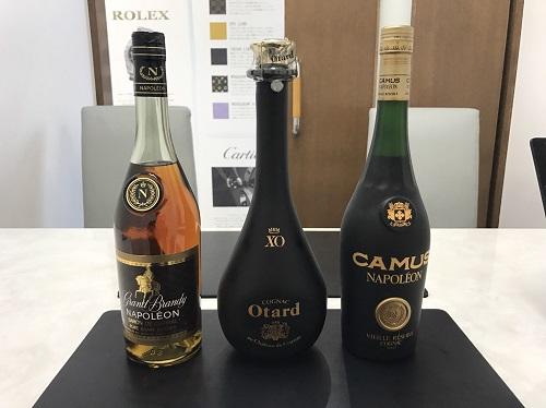 お酒 オタール ナポレオン カミュ 買取 北山