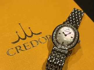 SEIKO セイコー CREDOR クレドール GSTE951 ダイヤモンド 時計買取 福岡天神 博多