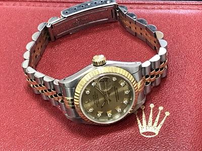 ロレックス デイトジャスト Ref.69173G S品番 旧ダイヤ 保証書無し 1993年製