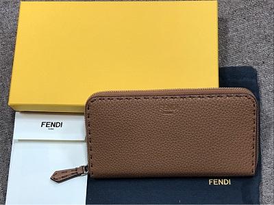 フェンディ(FENDI) セレリア ラウンドファスナー 長財布 8M0299QZY 未使用 フェンディ買取 三宮 元町 神戸