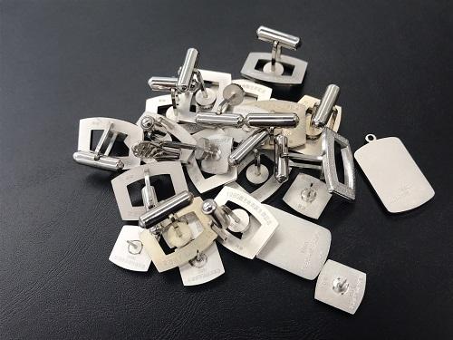 カフス ペンダント 純銀 SV1000 貴金属 120g