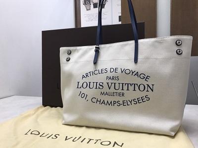 ルイヴィトン(LOUIS VUITTON) カバMM サマーコレクション 2014年 キャンバス 買取