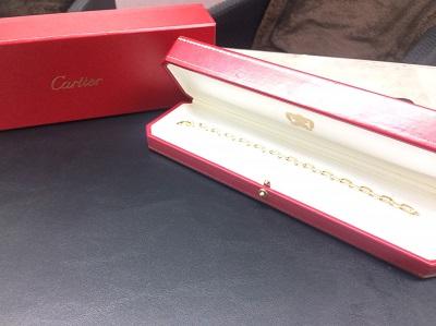 カルティエ(Cartier) スパルタカスブレスレット 750 ブランドジュエリー 買取 マルカ