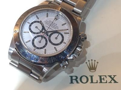 ロレックス(ROLEX)デイトナ Ref.16520 L品番 段落ち 白文字盤 保証書無し