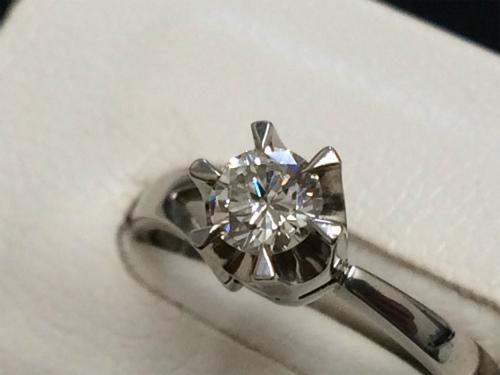 ダイヤモンド プラチナ リング 指輪 プラチナ 宝石 エンゲージ ジュエリー マルカ 宅配買取 高価買取