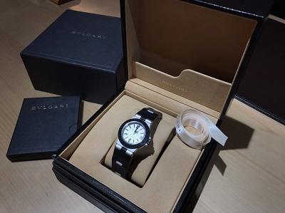 BVLGARI ブルガリ アルミニウム ボーイズ AL32TA 腕時計 高価買取 宅配買取