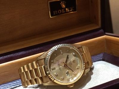 ロレックス(ROLEX)デイデイト Ref.18238A T品番 保証書有 美品