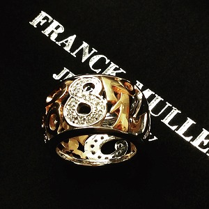 フランクミュラー(FRANCK MULLER)  タリスマンリングダイヤ WG750 高価買取り  マルカ渋谷