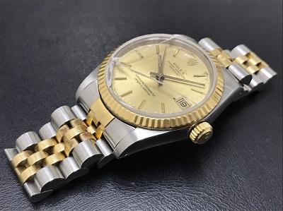 ROLEX ロレックス デイトジャスト ボーイズ Ref.68273 ガラス割れ ジャンク 腕時計 高価買取 七条店