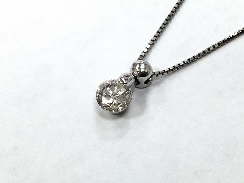 ペンダント ダイヤモンド 0.600カラット 3.4g Pt900