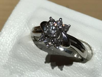 指輪 ダイヤモンド(DIAMOND) リング プラチナ ジュエリー 宝飾品