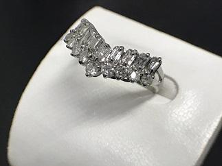 ダイヤモンドリング Pt900 0.50ct プラチナ 貴金属 買取 福岡 天神 博多