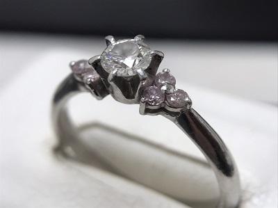 ダイヤモンド 0.307ct リング Pt900 プラチナ 宝石 高価買取 七条店