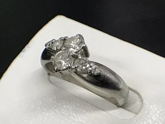 ダイヤモンドリング Pt900 0.75ct プラチナ ジュエリー 宝石買取 福岡天神 博多
