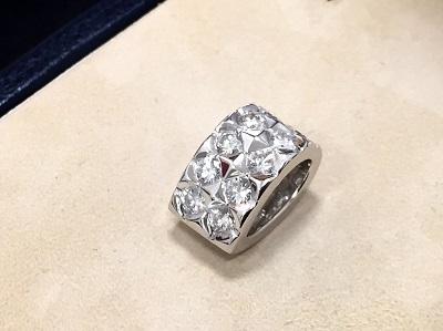 ブシュロン(Boucheron) ディアマン ダイヤネックレス 750WG 渋谷 買取