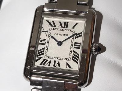 Cartier(カルティエ)タンク ロソSM W5200013 QZ/SS 買取 出張買取東京