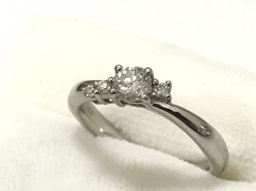 指輪 Pt900 ダイヤモンド 0.315カラット 4.7g